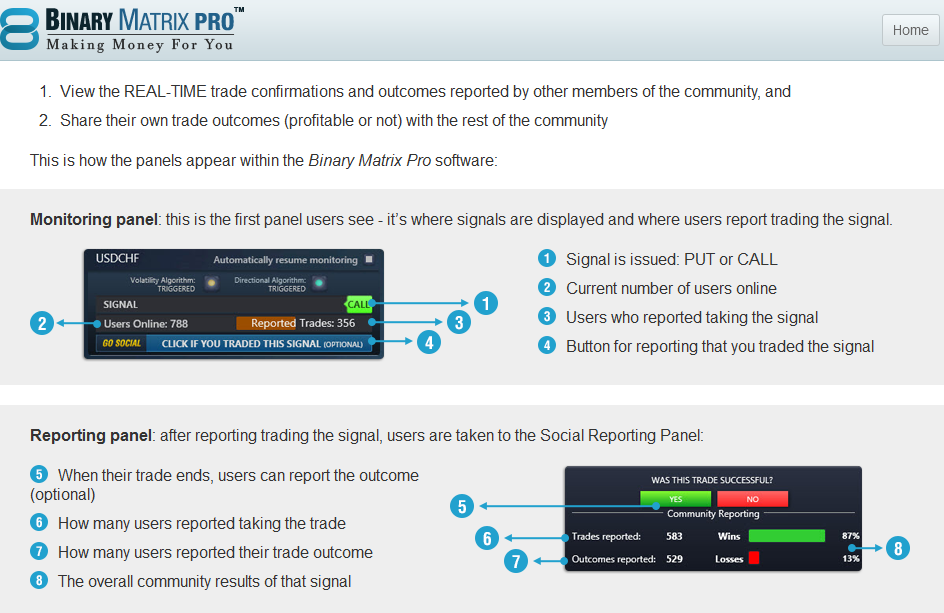 Binary matrix pro binary options trading signals software