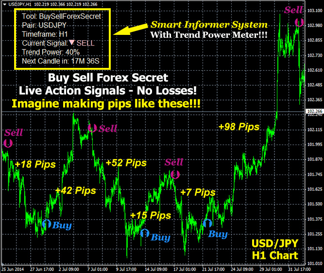 Buy Sell Forex Secret Indicator Can Make Upto 200 Pips Daily